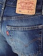 Image 3 ofReclaimed Vintage Levis Boyfriend Jeans in Dark Stonewash