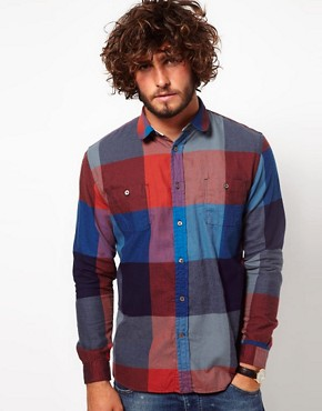Image 1 ofPaul Smith Jeans Flannel Check Shirt