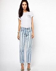 Lulu &amp; Co Striped Jeans
