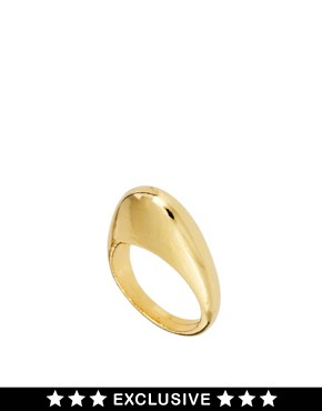 Image 1 ofSusan Caplan Exclusive For ASOS Vintage &#39;90s Sculpted Ring