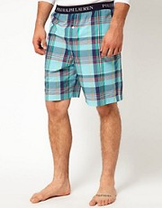 Polo Ralph Lauren Check Woven Lounge Short