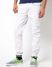 Kr3w Jeans Skinny White Tie Dye