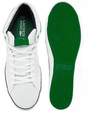 Image 3 ofLacoste Camous Leather Trainers