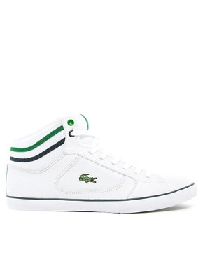 Image 4 ofLacoste Camous Leather Trainers