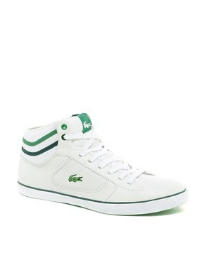 Image 1 ofLacoste Camous Leather Trainers
