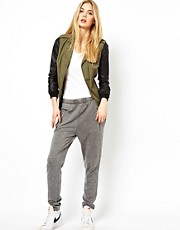 Vila Grey Marl Track Pant