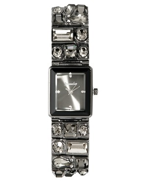 Image 1 ofAccessorize Crystal Ladies Watch