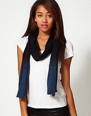 Unconditional Dip Dye Middle Scarf