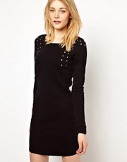 Vila Studded Mini Dress