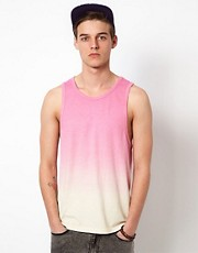 ASOS Vest With Dip Dye