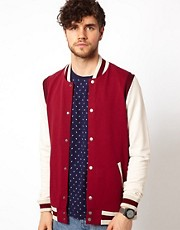 ASOS Bomber With Contrast Sleeves