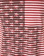 Image 3 ofASOS Stripe T-Shirt With Flag Print