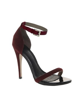 Image 1 ofASOS HARLOT Stiletto Leather Sandals