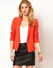 Mango Miranda Stand Collar Blazer