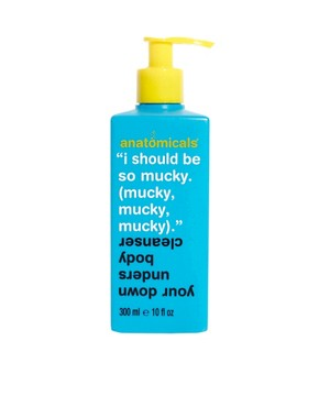 Image 1 ofAnatomicals I Should Be So Mucky Mucky Mucky Body Cleanser 300ml