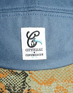 Image 2 ofCity Fellaz 5 Panel Cap