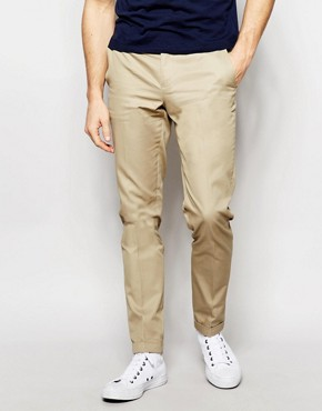Sisley Slim Fit Chino with Turn Up