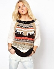 ASOS Premium Hand Knit Sweater