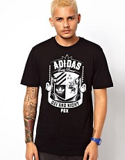 Adidas Originals T-Shirt with Shield Print