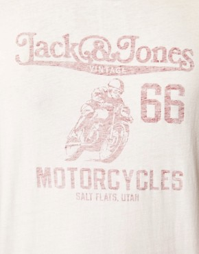 Image 3 ofJack &amp; Jones Vintage Motorcycles T-Shirt