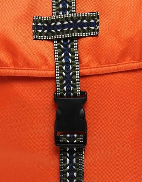 Image 4 ofASOS Colour Block Aztec Backpack