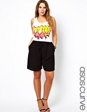 ASOS CURVE Soft Culottes