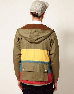 Image 2 ofSelf Multi Stripe Loathing Jacket