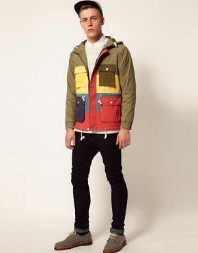 Image 4 ofSelf Multi Stripe Loathing Jacket