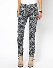 Denim &amp; Supply By Ralph Lauren Printed Skinny Cords