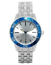 ASOS Silver Bracelet Watch
