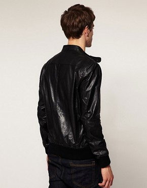 Image 2 ofSelected Alex Leather Jacket