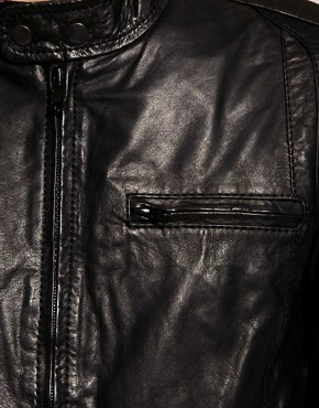 Image 3 ofSelected Alex Leather Jacket