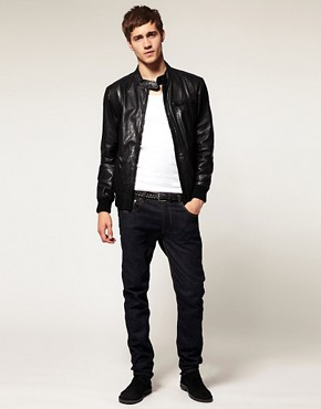 Image 4 ofSelected Alex Leather Jacket