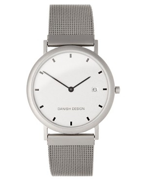 Image 1 ofDanish Designs Watch With Mesh Strap