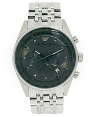 Reloj de acero inoxidable con cronmetro AR5997 de Emporio Armani