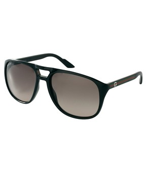 Image 1 ofGucci Young Aviator Sunglasses