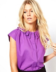 ASOS Blouse with Origami Collar