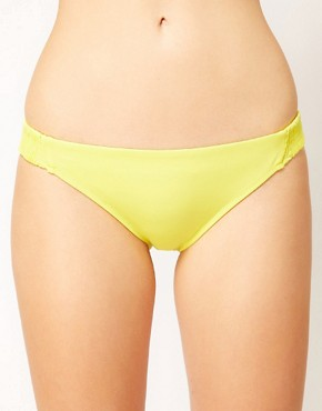 Image 1 ofASOS Mix and Match Shirred Hipster Bikini Pant