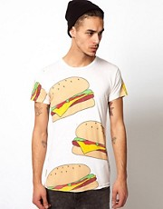 Horace T-Shirt with Burger Print