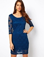 True Decadence Lace Mini Dress