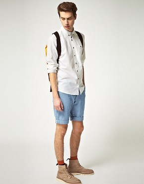 Image 4 ofMinimum Jett Chambray Shorts