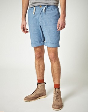 Image 1 ofMinimum Jett Chambray Shorts