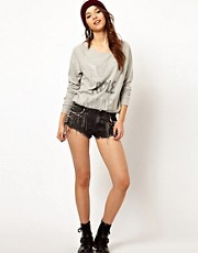 River Island Studs &amp; Chain Knicker Short