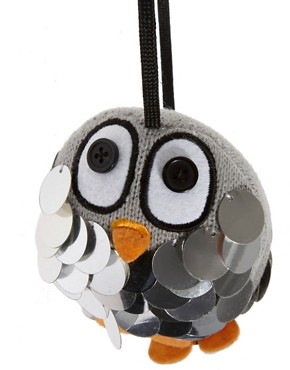 Image 3 ofASOS Penguin Sequin Earmuffs