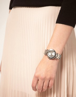 Image 2 of Lipsy Silver Round Bracelet Watch