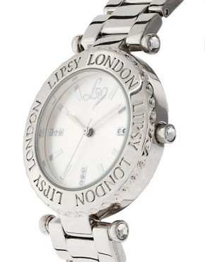 Image 3 of Lipsy Silver Round Bracelet Watch