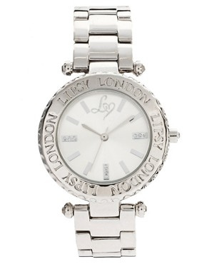 Image 1 of Lipsy Silver Round Bracelet Watch