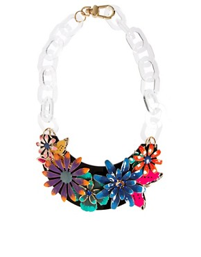 Image 2 ofASOS Darling Buds Flower Necklace