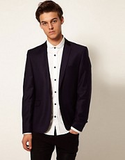 Vito One Button Blazer
