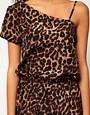 Image 3 ofASOS Playsuit in Animal Print